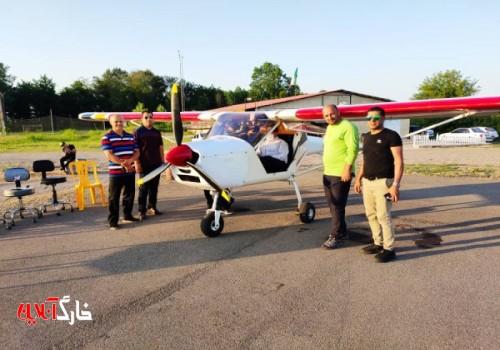 جوانان بوشهری پیش قدم در ساخت هواپیمای فوق سبک