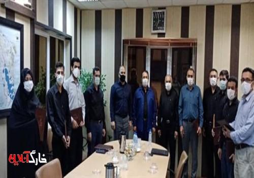 اعضای ستاد بازسازی عتبات عالیات جزیره خارگ منصوب شدند+تصویر
