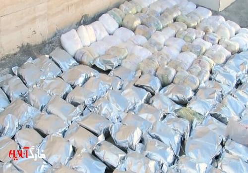 ۲.۵ تن مواد مخدر توسط پلیس استان بوشهر کشف شد