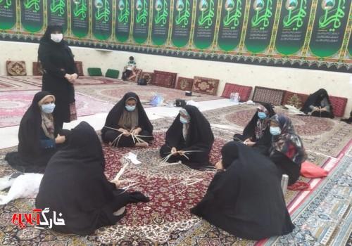 احیای «حصیربافی» در روستای درودگاه دشتستان
