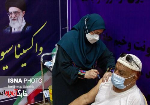 واکسیناسیون کرونا در بوشهر رکورد زد