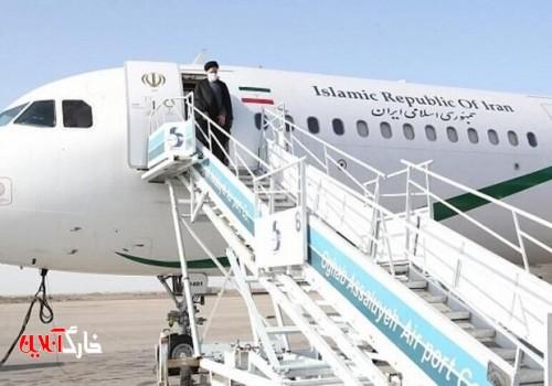 رئیس جمهور بوشهر را به مقصد تهران ترک کرد