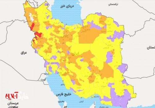 خروج استان بوشهر از وضعت نارنجی کرونایی/ دو شهرستان آبی است