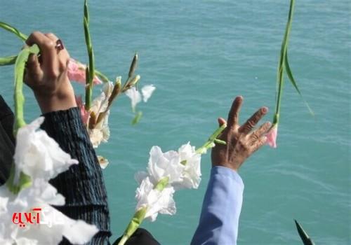 محل شهادت حماسه آفرینان خلیج فارس گلباران شد