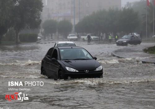 کاهش ۴۷ درصدی بارندگی در بوشهر