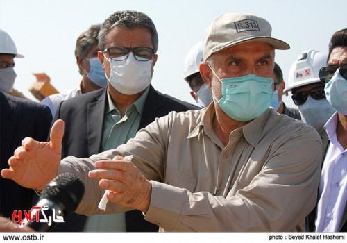 آبشیرینکن ۱۷ هزار مکعب بوشهر بهزودی وارد مدار تولید میشود