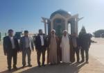 حضور نماینده ولی فقیه در امور اهل سنت استان بوشهر در جزیره خارگ