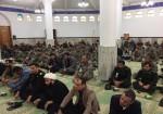 مراسم عزاداری شهادت سردار دلها  ، در مسجد پدافند هوایی ارتش در خارگ