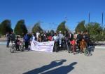 همایش دوچرخه سواری به مناسبت دهه مبارک فجر در جزیره خارگ برگزار شد