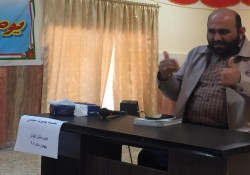 جلسه نهضت روشنگری با محوریت انتخابات به مناسبت دهه مبارک فجر توسط دکتر میرزایی در نقطه نقطه شهر خارگ برگزار شد