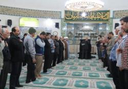 برگزاری مراسم سالروز وفات حضرت ام البنین(س) در مسجدامیرالمومنین علی (ع)جزیره خارگ برگزار شد