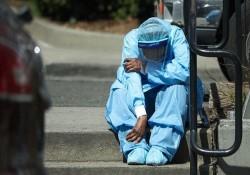 فوتیهای کرونا در آمریکا از ۷۱ هزار نفر عبور کرد