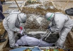 رعایت همه پروتکلهای بهداشتی در دفن اجساد مبتلایان کرونا در بوشهر