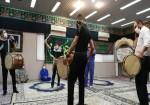 برگزاری مراسم سوگواری در منطقه عملیاتی شرکت نفت فلات قاره خارگ