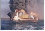 Son Bong از حرکت ایستاد ولی صادرات نفت خارگ یک روز هم قطع نشد