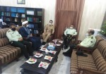 دیدار مدیران ارشد ناجا با فرمانده نیروی دریایی ارتش در خارگ