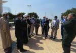 سفر کاری ریاست ستاد بازسازی عتبات عالیات استان بوشهر به جزیره خارگ + تصویر