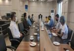 نشست خبری شهردار خارگ با اصحاب رسانه + گزارش تصویری