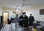 دیدار فرمانده سپاه ثار الله جزیره خارگ و هیات همراه با خانواده های شهدا