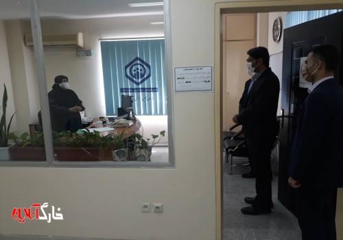 بخشدار ویژه خارک و رییس شورای شهر خارک به مناسبت هفته تامین اجتماعی به دیدار کارکنان این سازمان در جزیره خارک رفتند.