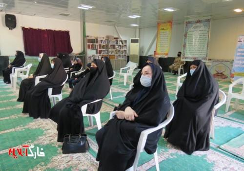 آیین گرامیداشت چهلم شهید فخری زاده درجزیره خارگ برگزار شد