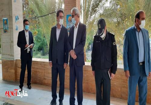 معاون سیاسی امنیتی استانداری بوشهر وارد خارگ شد