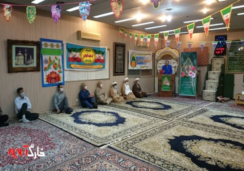 برگزاری جشن میلاد یگانه بانوی دو عالم، حضرت فاطمه زهرا (س) در منطقه عملیاتی شرکت نفت فلات قاره خارگ