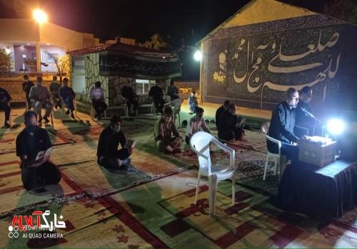 برگزاری مراسم پُرفیض شب قدر در منطقه عملیاتی نفت فلات قاره خارگ